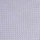 10' X 22' White Maur-Net W/Web Reinforced Hems W/Grommets 24'' Apart