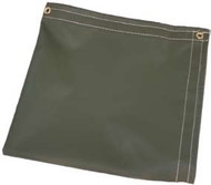 26' X 40' Tan Temper Tent Tarp W/Rope In Hems W/Grommets 24'' Apart