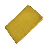9' X 18' Gold Slag-Shed Blanket 24 oz. Neo/Glw/Grommets 24'' Apart