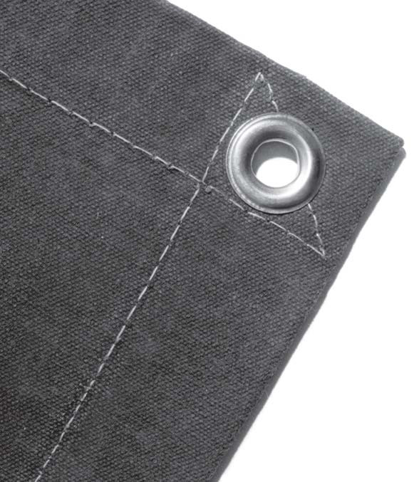 Ruff Tarps Reinforced Waterproof Poly Tarp with Grommets ...  Large Grommets For Tarps