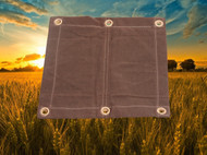 16' X 24' c/s Ultra Strong Noble Style Poly Tarp - Blue (TPU016024NOBLEBL)