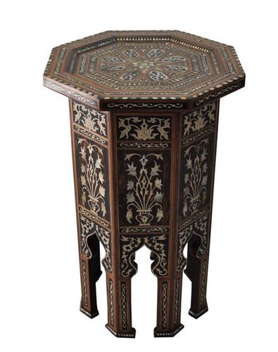 Persian Mother of Pearl Side Table