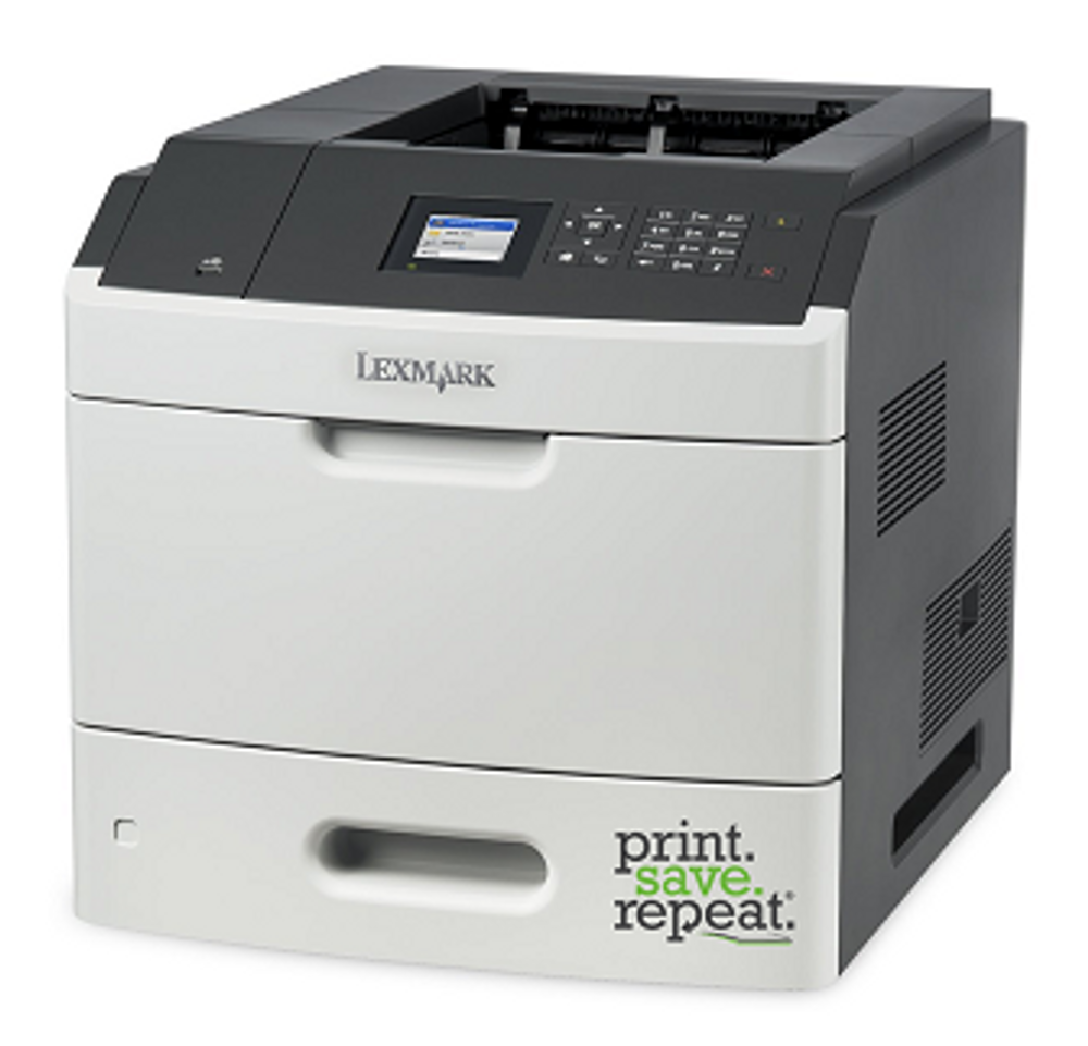 Lexmark MS817 Series: How to Replace the Toner Cartridge