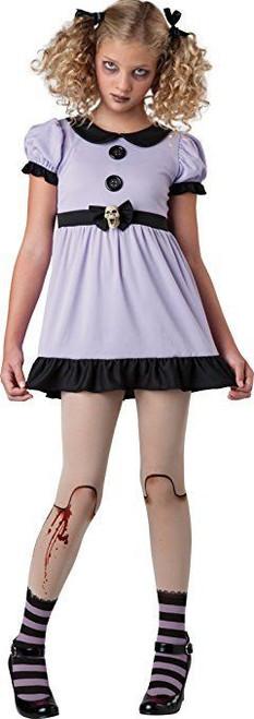 Incharacter Dead Dolly Ceramic Doll Tweens Girls Halloween Costume 18068