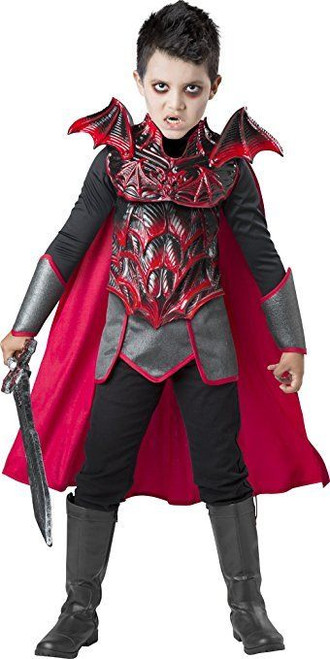 Incharacter Vampire Knight Undead Warrior Child Boys Halloween Costume 17115