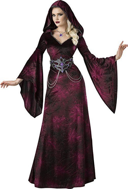 Incharacter Dark Realm Sorceress Witch Adult Womens Halloween Costume 11102