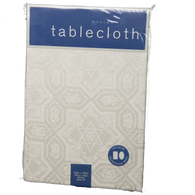 Ivory Chanukah Tablecloth