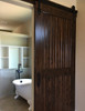 sliding barn door hardware with star designs