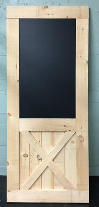 Weavertown - Chalkboard Economy Style Barn Door