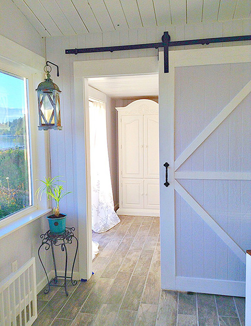 Industrial Style Barn Door Hardware Kit