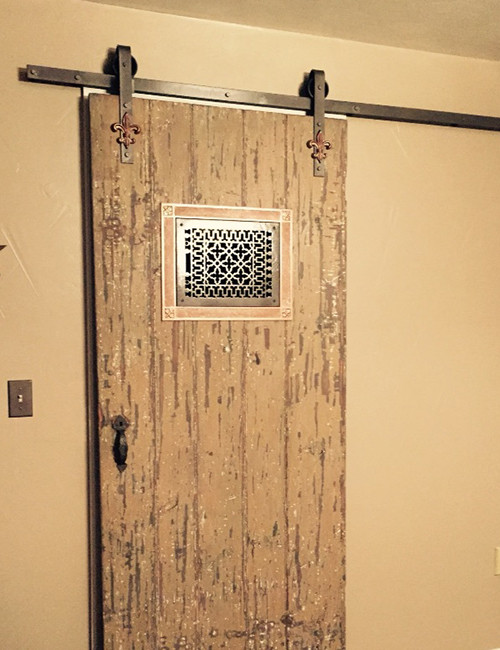 Fleur De Lis Barn Door Hardware Kit Barn Door Hardware