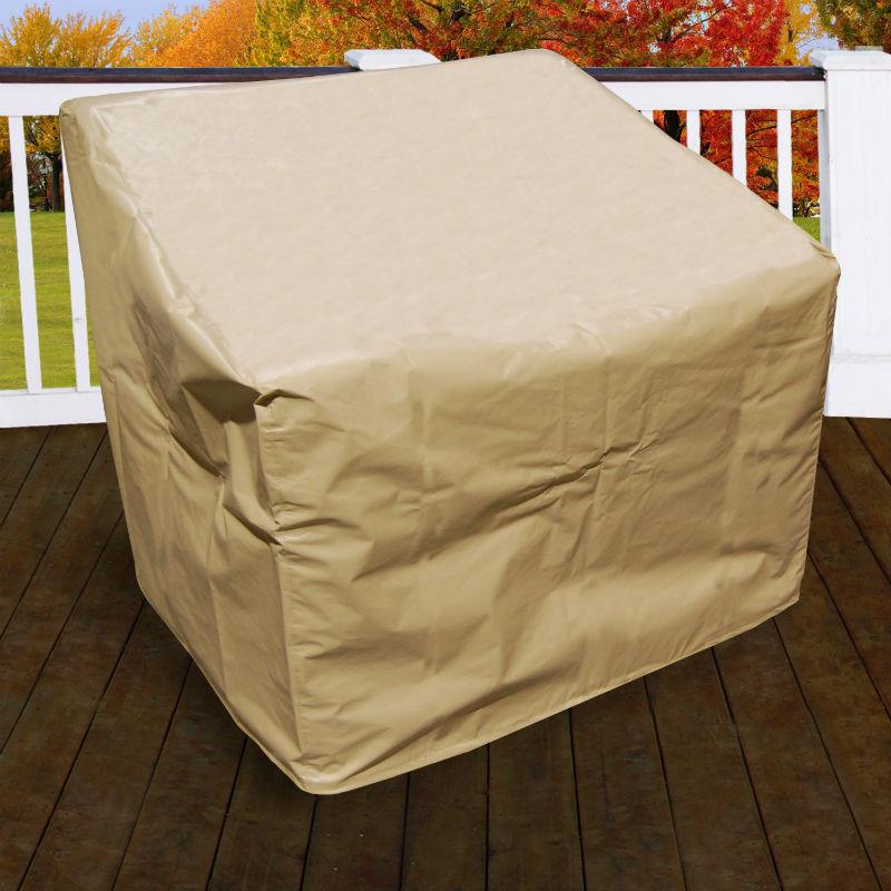 Furniture Cover Malibu Club Chair Swivel Glider
