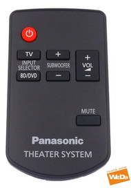 GENUINE NEW PANSONIC N2QAYC000043 Remote + BATTERY SC-HTB520EBK SC-HTB527EBS