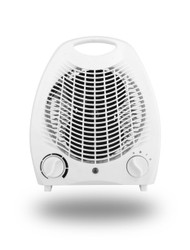 THERMO Small Light Quiet Portable 2KW 2000W Electric Upright Standing Fan Heater