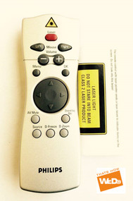 PHILIPS RC331503/00 PROJECTOR REMOTE CONTROL LC43 LC44
