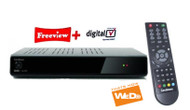 Goodmans GD11FVRSD32 320 GB Twin Tuner Freeview Box Digital Set Top DTR Recorder