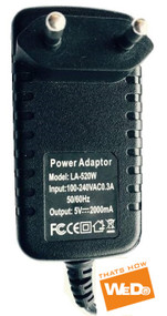 HN-528i ANDROID TABLET PC POWER SUPPLY AC ADAPTER 5V 2A EU