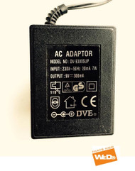 DVE AC Adapter DV-9300SUP 9V 300mA