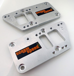Scram Speed LSx to 3-bolt Chevy Mount Engine Swap Adapter Plates