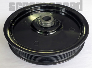 79-93 SBF 5.0 302 Mustang Underdrive Power Steering Serpentine Pulley