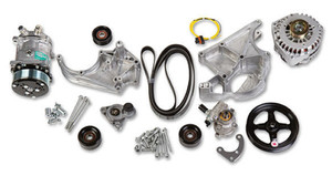 LS COMPLETE ACCESSORY DRIVE KIT Includes SD508 A/C Compressor, Alternator, P/S Pump, Tensioner, Belt, & Pulleys