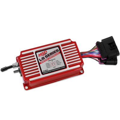 The new MSD 6014 box is the ultimate choice for controlling ignition duties on your carburetor swap LSX engine.