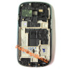Samsung I8190 Galaxy s III mini Front Bezel for LCD Screen -White