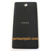 Back Cover for Sony Xperia ZR M36H -Black