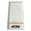 Back Cover for Sony Xperia C S39H -White