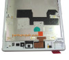 Complete Screen Assembly with Bezel for Sony Xperia Z Ultra XL39H (Used) -Silver