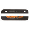 Top and Bottom Cover for HTC One mini M4 -Black from www.parts4repair.com