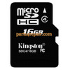 Kingston 16GB Micro SD Class 4 Memory Card from www.parts4repair.com