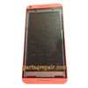 Front Housing Cover with Side Keys for HTC Desire 816 -Orange