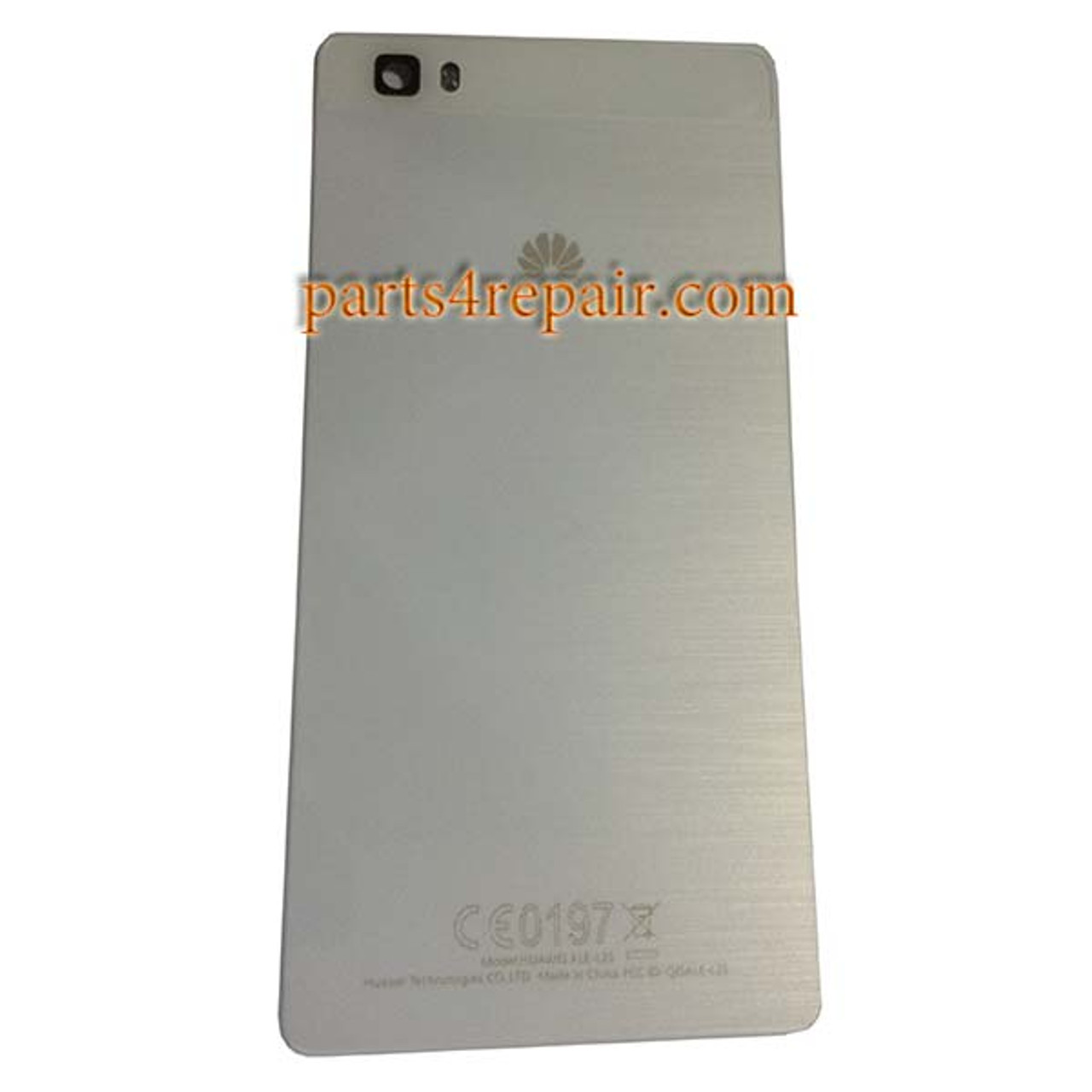 huawei p8 lite white. back cover for huawei p8 lite from www.parts4repair.com white h