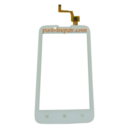 Touch Screen Digitizer for Lenovo A328 -White