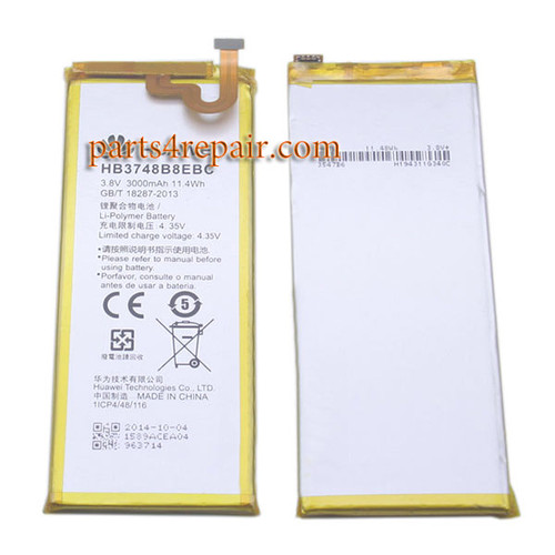 Built-in Battery 3000mAh for Huawei Ascend G7