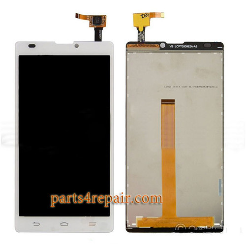 Complete Screen Assembly for ZTE Blade L2 -White