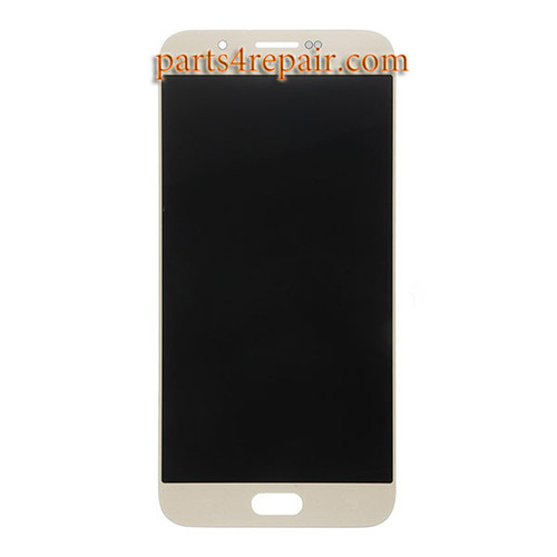 Complete Screen Assembly for Samsung Galaxy A8 -Gold