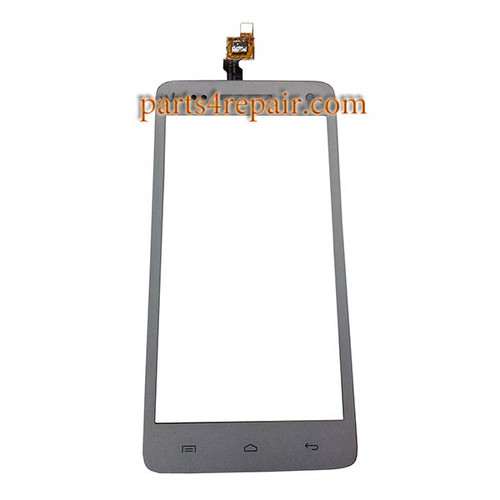 Touch Screen Digitizer for Wiko Rainbow -White