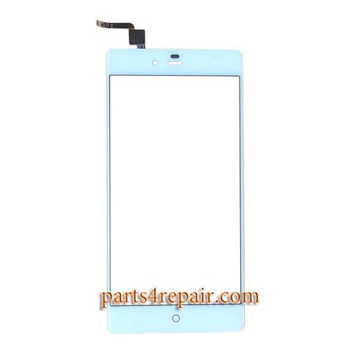 Touch Screen Digitizer for ZTE Nubia Z9 Max NX510J -White