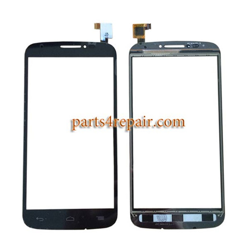 Touch Screen Digitizer for Alcatel Pop C7 -Black