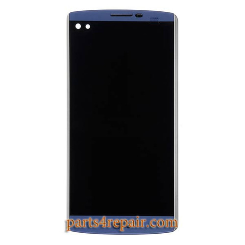Complete Screen Assembly with Bezel for LG V10 H900 H901 -Blue