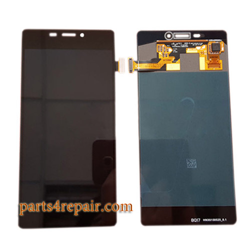 Complete Screen Assembly for Gionee Elife S7 GN9006 -Black