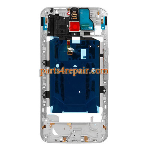 Middle Housing Cover for Motorola Moto X Style XT1572 XT1575 -White