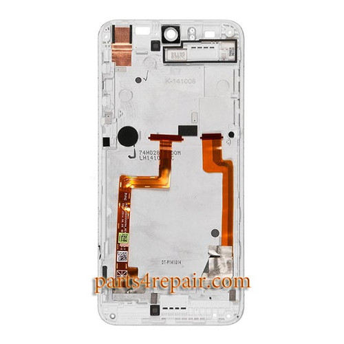 Complete Screen Assembly with Front Housing for HTC Desire Eye -White