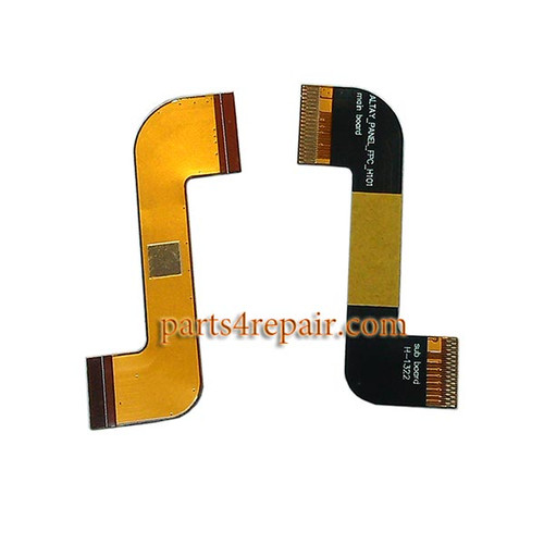 LCD Connector Flex Cable for Lenovo Idea Tab A3000 from www.parts4repair.com