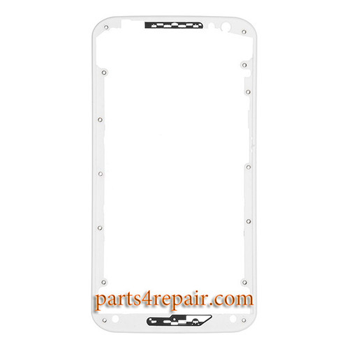 Front Bezel for Motorola Moto X 2014 (2nd Gen) -White