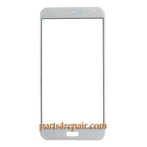 Front Glass OEM for Meizu Pro 5 -White