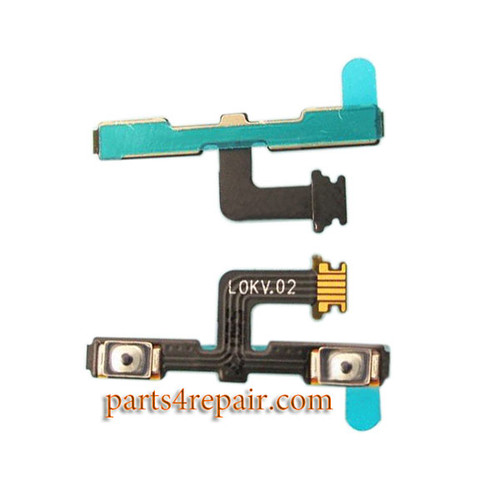 Volume Flex Cable for Meizu MX4 Pro from www.parts4repair.com