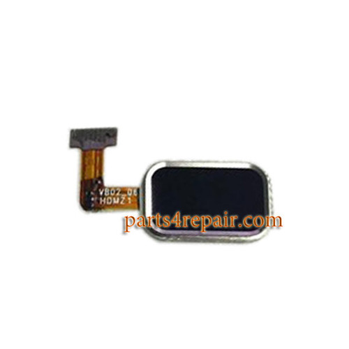 Home Button with Flex Cable for Meizu MX4 Pro -Black